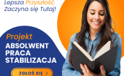"""Plakat - Centrum Rozwoju Lokalnego - Projekt """"Absolwent-Praca-Stabilizacja"""""""