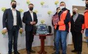 Przekazanie defibrylatora Lifepak 15 dla Stowarzyszenia Malta Służba Medyczna Oddział Myślenice