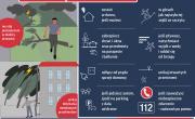 Infografika: Burza - bądź bezpieczny