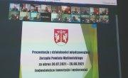 Obrady  XXXVII sesji Rady Powiatu Myślenickiego w trybie online
