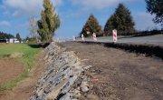 Trwające prace drogowe w Brzezowej