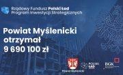 Otrzymamy ponad 9,6 miliona złotych na trzy powiatowe inwestycje: w infrastrukt